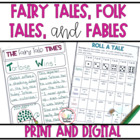 Fairy Tales, Folk Tales, and Fables Common Core Aligned Un