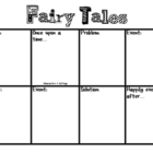 Fairy Tales Story Board (Common Core - Writing W.2.3)