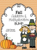 Fall BUMP Addition and Multiplication {Editable}