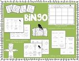 Fall Bingo and Memory/Matching Game
