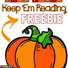 Fall Break FREEBIE!