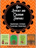 Fall Bundle: Literacy and Calendar Journals