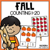 Fall Counting Fun (1-20)