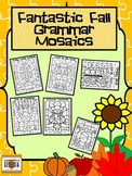 Fall Fun! Grammar Color By Part of Speech-Noun,Verb,Adject