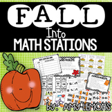 Fall Into Math Stations