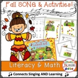 Fall Literacy Connections: Leaves Are Falling! {CCSS}