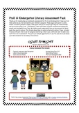 PreK and Kindergarten Literacy Assessment Pack