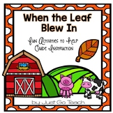 Fall Literature: When The Leaf Blew In- 8 Activities