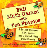 Fall Math Games with Ten Frames