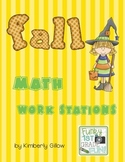 Fall Math Work Stations