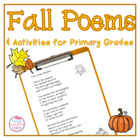 Fall Poems and Activities for Primary Grades