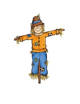 Fall Rhyming Scarecrow