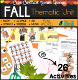 Fall / Autumn Unit: Thematic Common Core Curricular Essentials