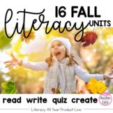 Fall Writing, Reading, Fluency, and Art (Aug-Nov.)