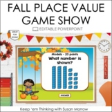 Place Value Game Show Editable!