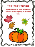 Fall into Phonics Bundle