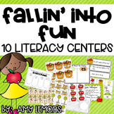 Fallin' Into Fun {10 Literacy Centers}