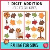 Falling For Numbers Addition File Folder Kit
