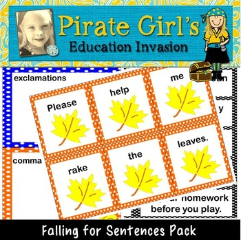 Falling for Sentences (4 types of sentences)