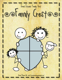 Family Crest - social studies family activity