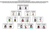 Family Tree game and flashcards