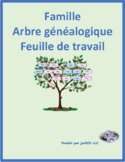 Family Tree in French Worksheet 2
