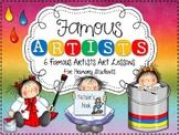 Famous Artists {6 Famous Artists Art Lessons}