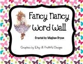 Fancy Words - Word Wall