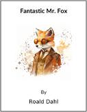 Fantastic Mr. Fox -  (Reed Novel Studies)