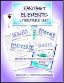 Fantasy Essential Elements Literature Unit {NO PREP}