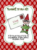Farewell to Our Elf! A Letter Writing Activity