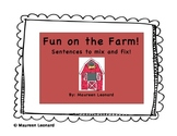 Farm Animals Sentence Matching AND Emergent Reader