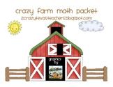 Farm Math Packet