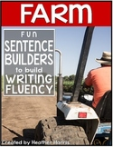 Farm Sentence Builders