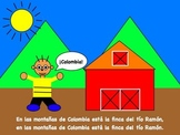 Farm animal song and activities  (Mp3- Spanish)