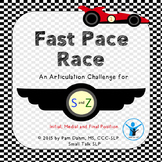 Fast Pace Race: Articulation Challenge for S and Z