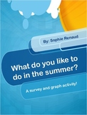 Favorite Summer Activities - Survey & Graph!