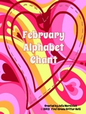 February Alphabet Chant