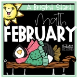February Morning Bright {Kindergarten Math Morning Work}