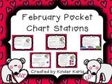 February Pocket Chart Station