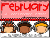 QR Code Listening Centers with Comprehension Organizers fo