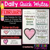 Writing - February Quick Writes