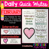 Writing - February Quick Writes