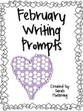 February Writing Prompts (Includes all holidays!)