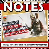 Feudal Europe Powerpoint With Check for Understanding Questions