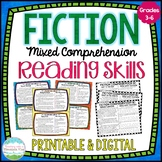Fiction Reading Skills Task Cards { Comprehension Skill Review }