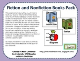 Fiction and Nonfiction Books Pack-CCSS aligned
