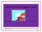 Fifth Grade Common Core Language Arts Standards