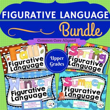 Figurative Language Bundle! idioms ,multiple meanings, & more!
