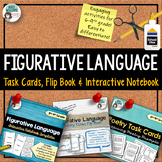 Poetry - Figurative Language Bundle - 3 Interactive Activities!